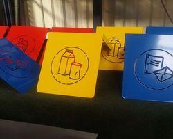 PRAM - Bléré - Nos réalisations - Différentes applications de peinture